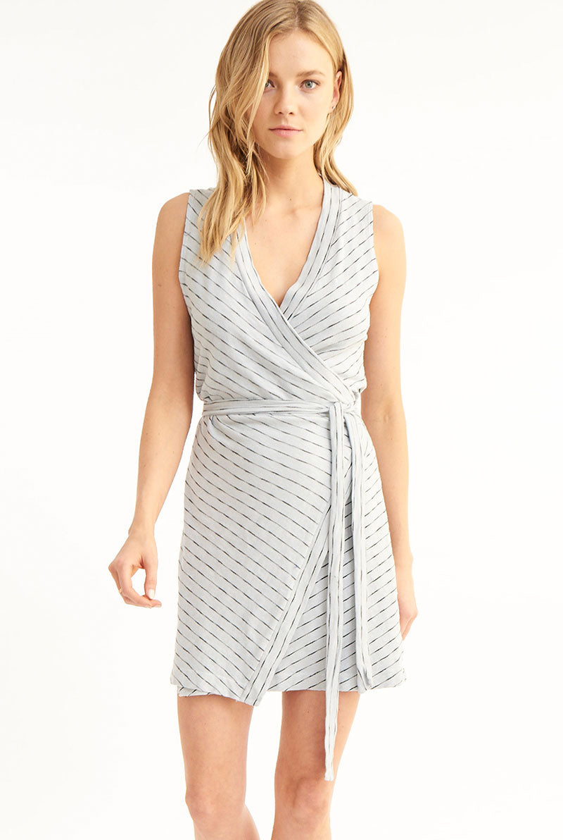KENNEDY WRAP DRESS