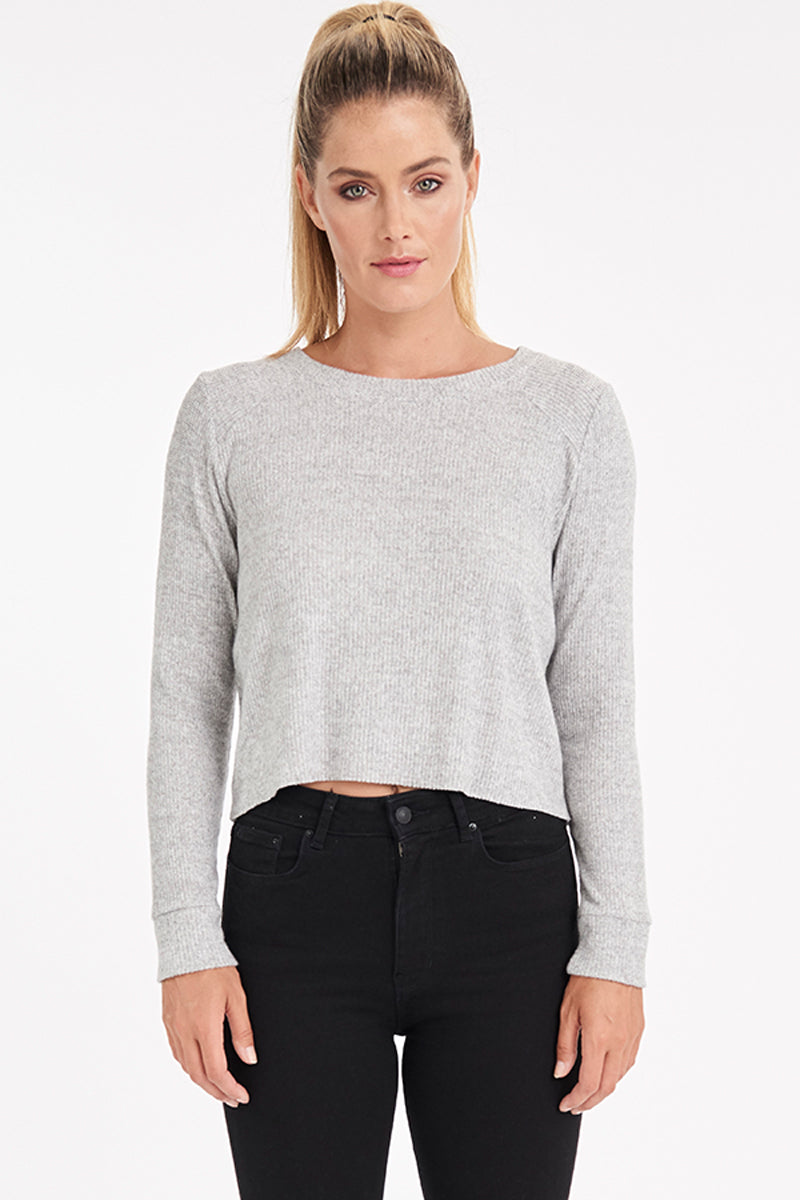 VALOR CROP SWEATER