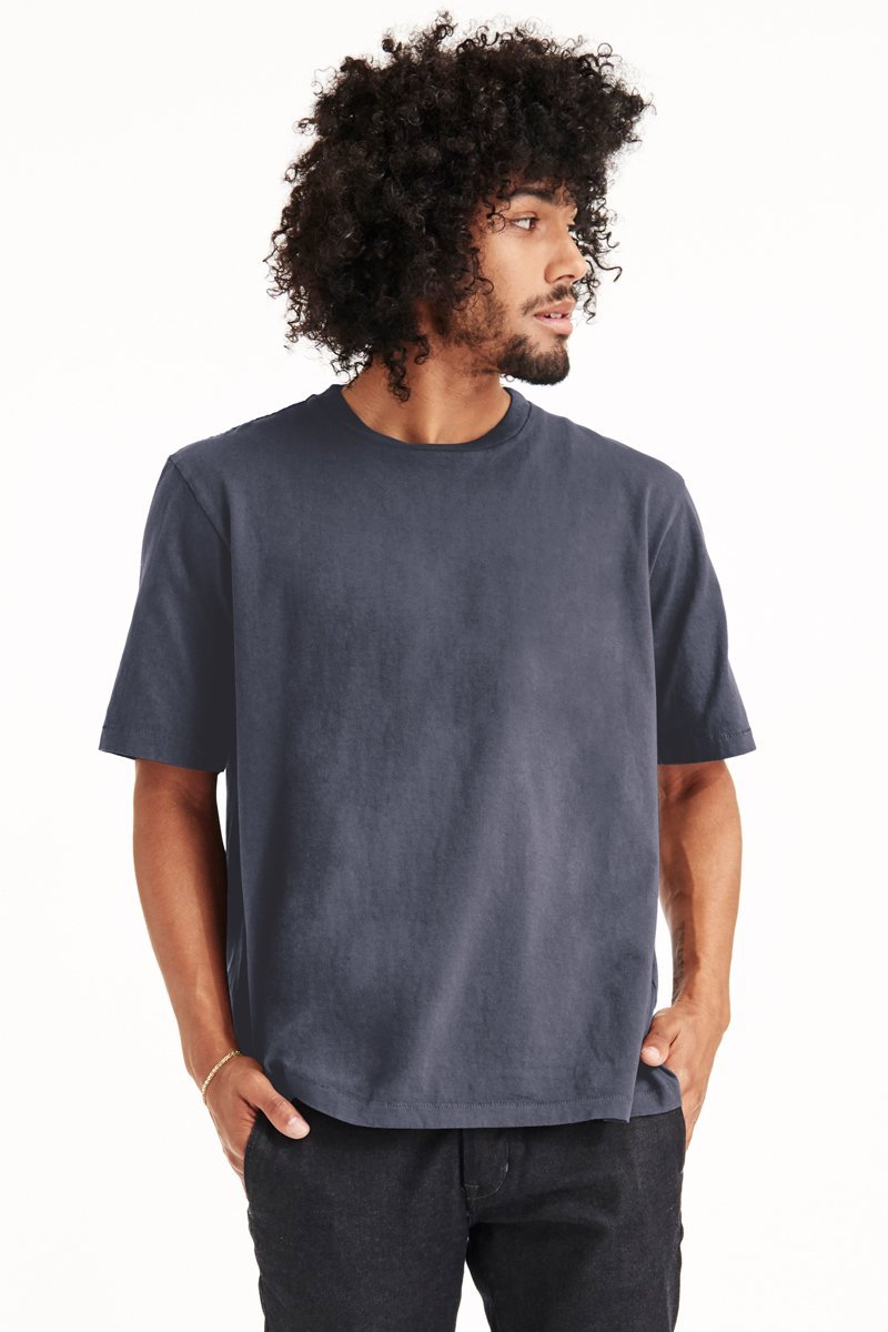 ECHO PARK TEE - DARK NAVY