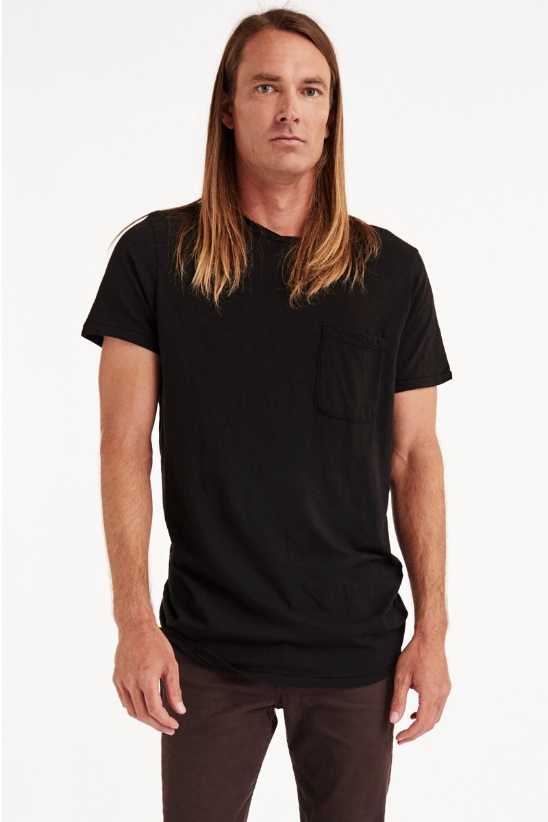 CENTRAL TEE - BLACK