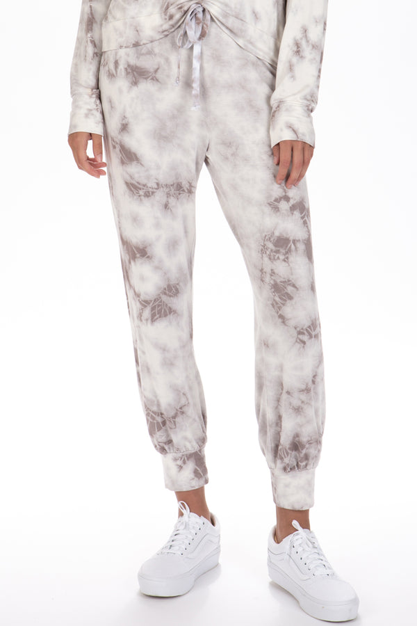 WATERCOLOR TIE DYE JOGGERS