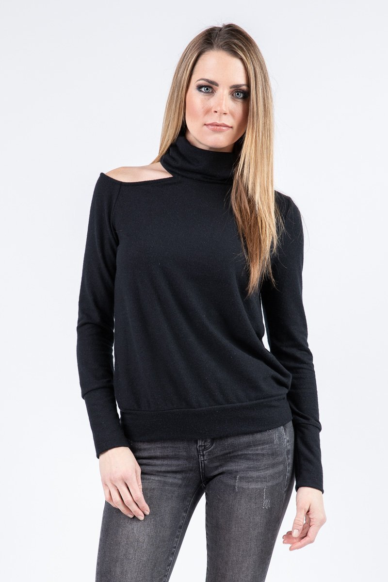 CARSON OPEN SHOULDER TOP