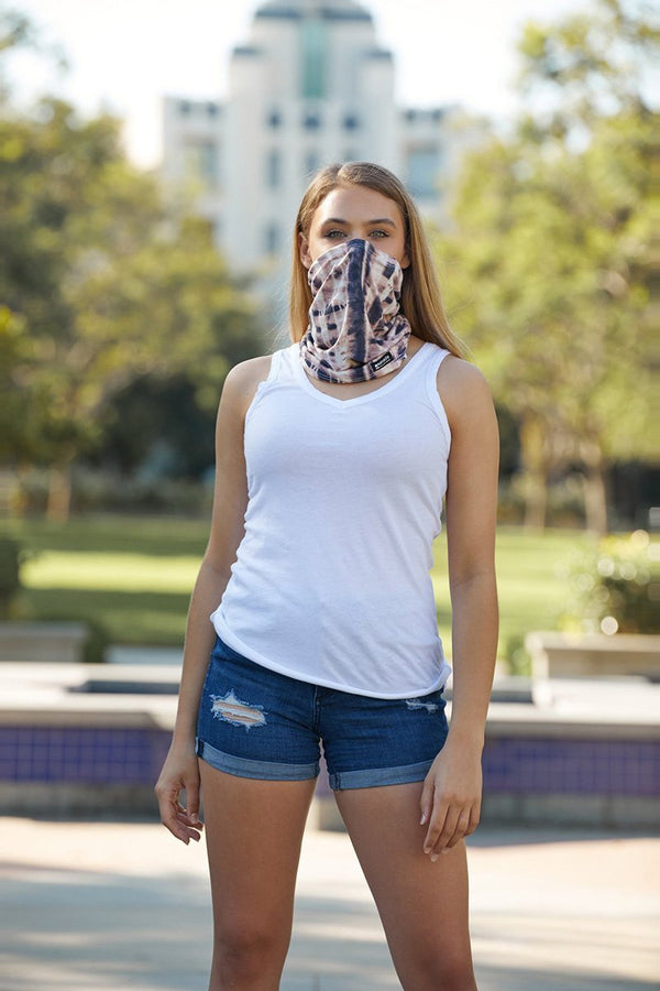 THE CALI WRAP - MARBLE WRAP MASK