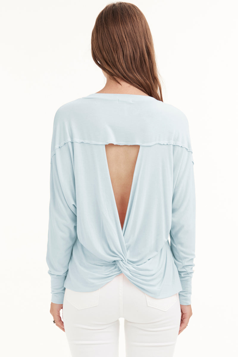 TIZZIE TWIST BACK TOP