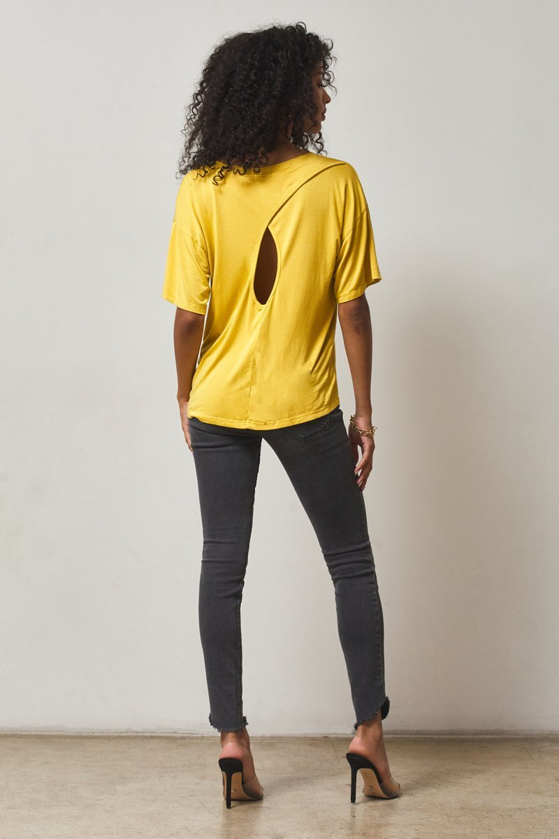 CARLSBAD CROSS BACK TEE