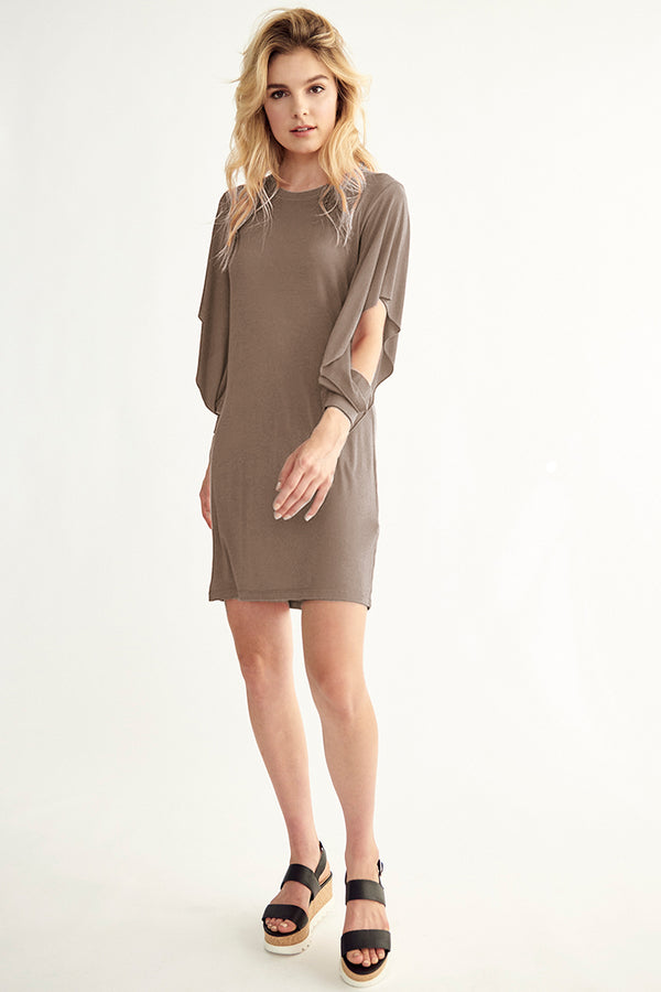 INDIE OPEN SLEEVE DRESS