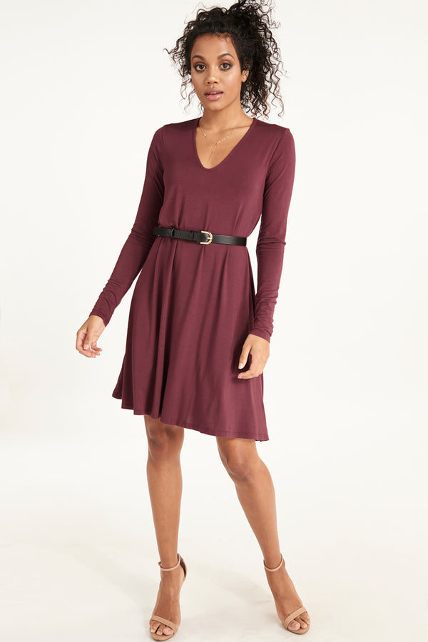 GRACE LONG SLEEVE DRESS