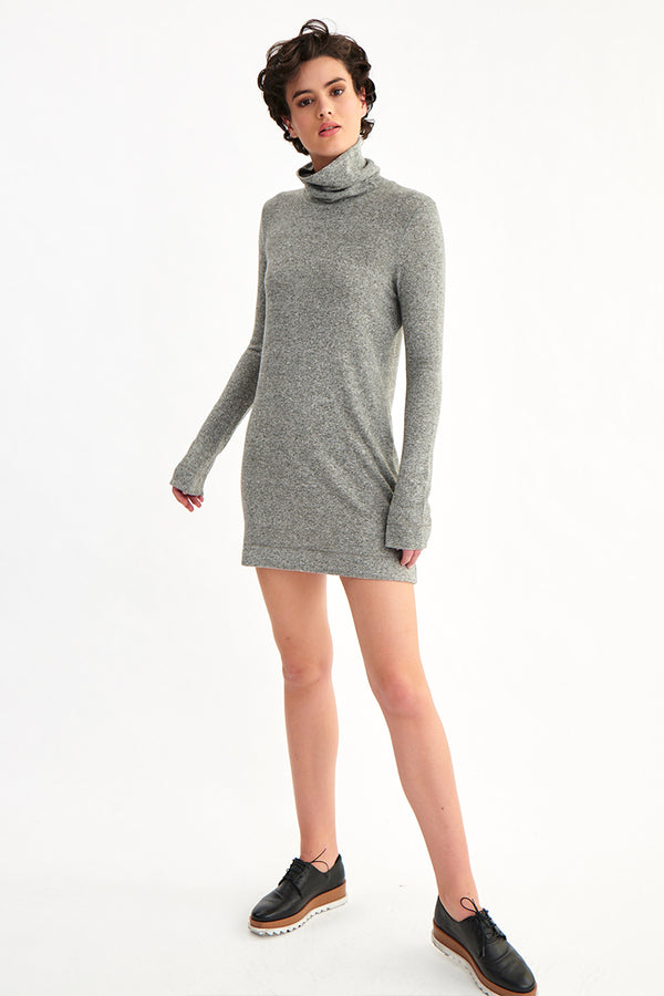 KOLE TURTLE NECK DRESS