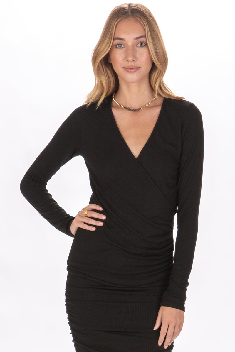 ELOISA SURPLICE TOP