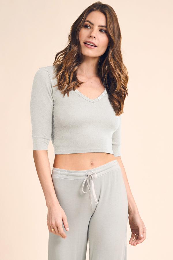 GRACIE HENLEY CROP TOP