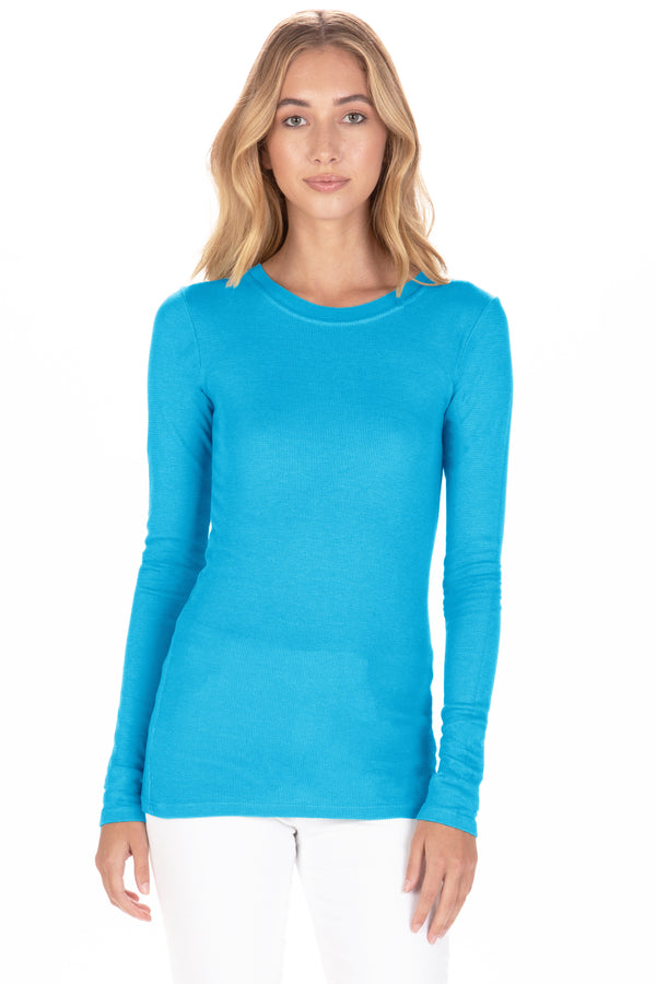 LONG SLEEVE THERMAL - MEDITERRANEAN BLUE