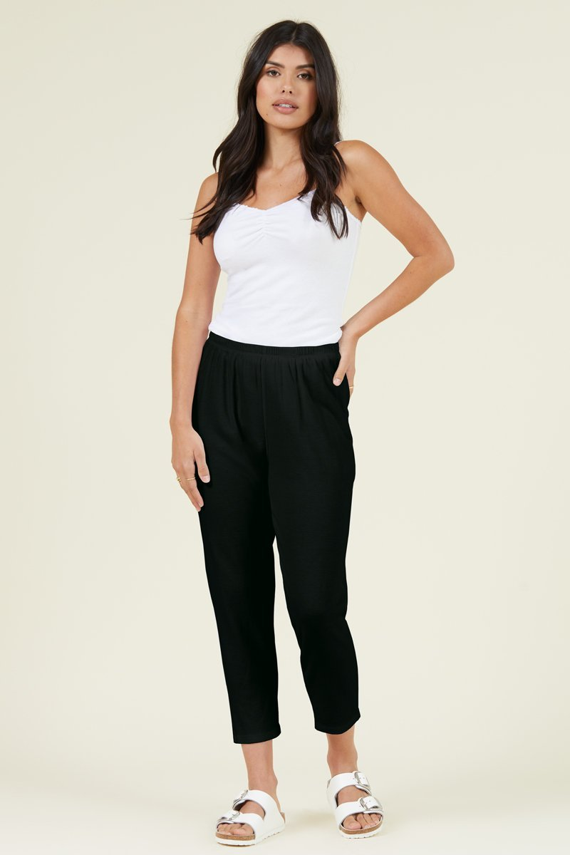 TAKE IT EASY CROPPED JOGGER