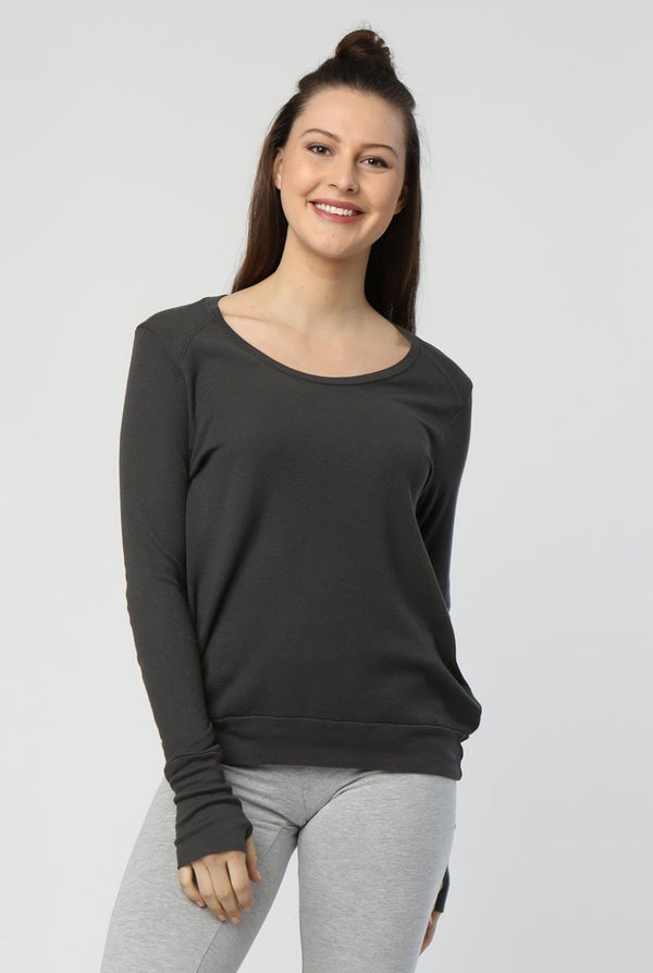 CONWAY THERMAL TOP WITH THUMBHOLES