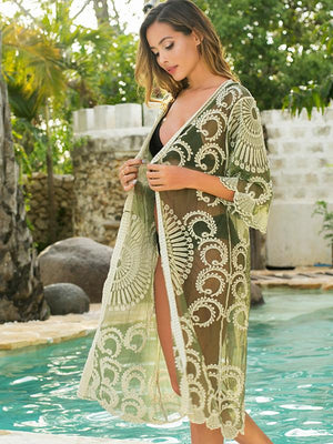 Crochet Lace Cover Up