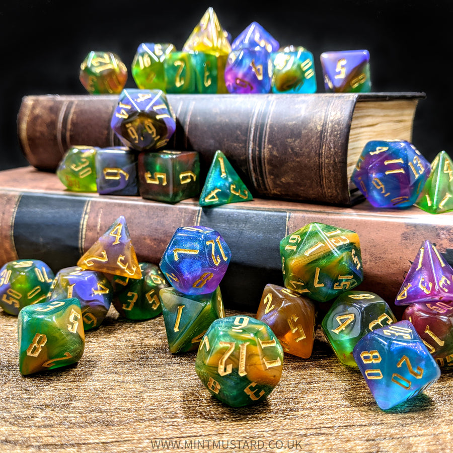 Alchemy Sulphur | Dice Set