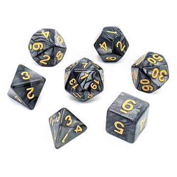 Onyx Pearl | Dice Set