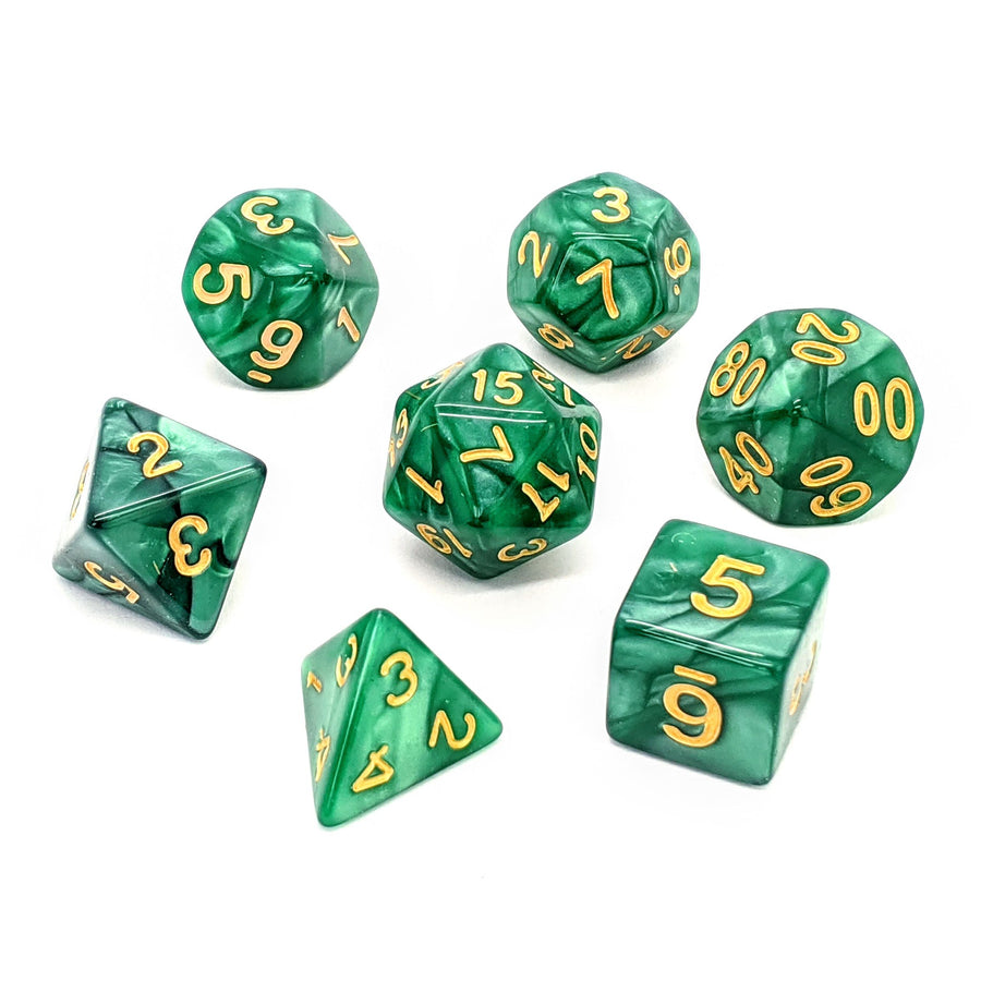 Forest Pearl | Dice Set