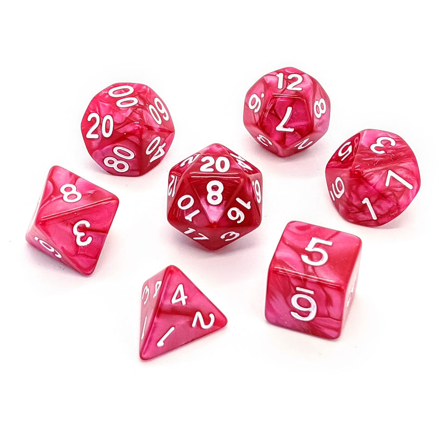 Rose Pearl | Dice Set