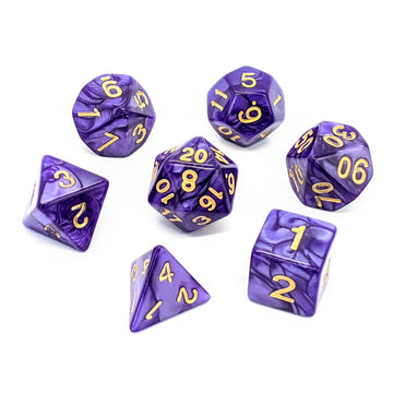 Violet Pearl | Dice Set
