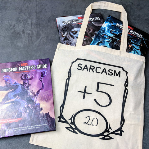 D&D Sarcasm +5 Bag