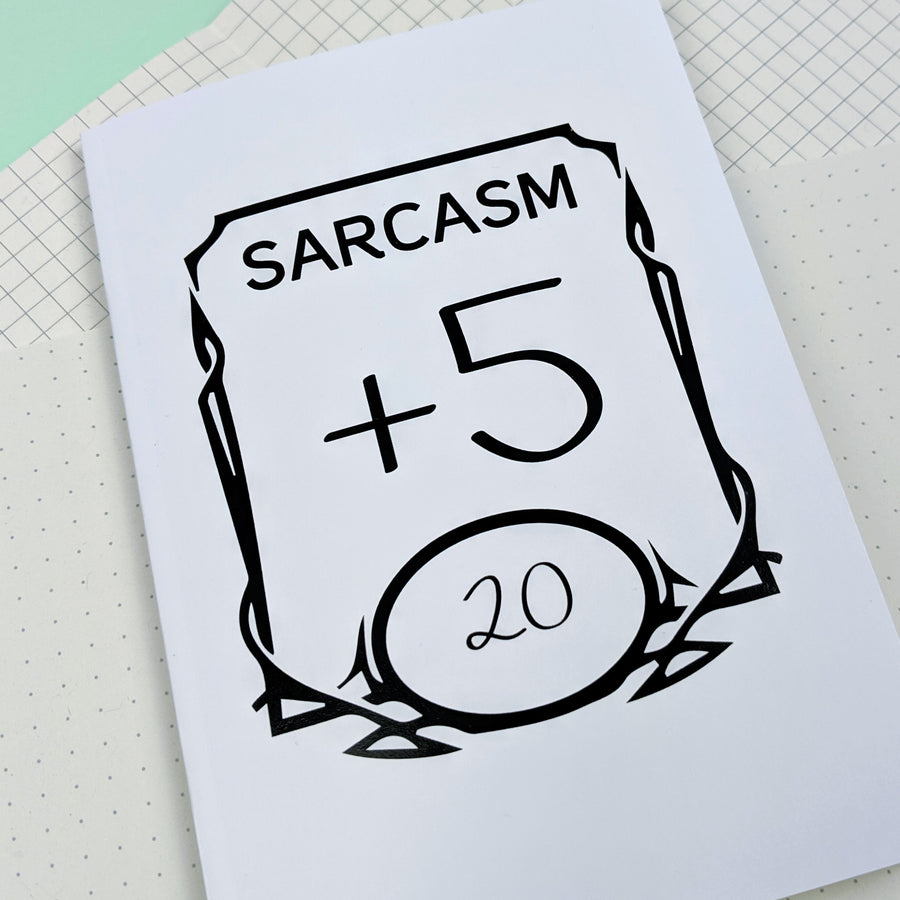 Sarcasm +5 Notebook
