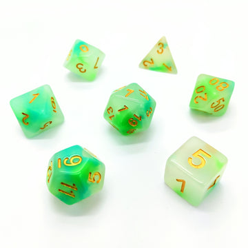 Water Opal | Dice Set