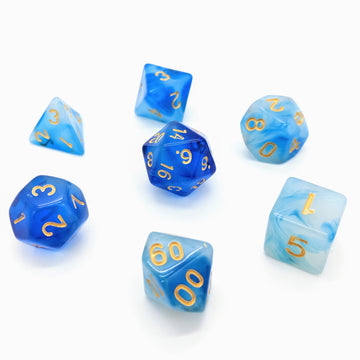 Milky Way in Blue | Dice Set
