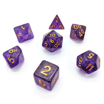 Fairy Dust in Purple | Dice Set