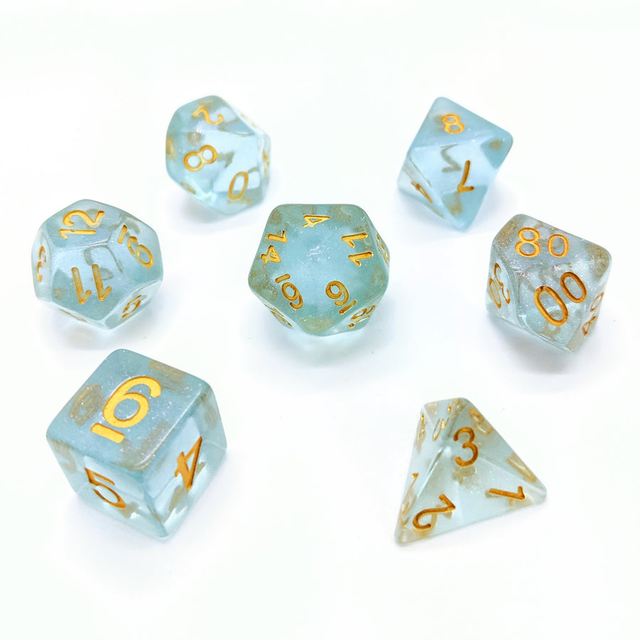 Fairy Dust in Mint | Dice Set