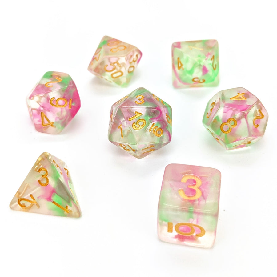 Wisp Rose | Dice Set