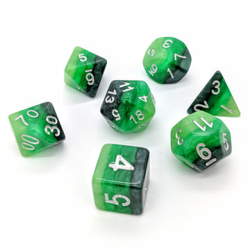 Emerald Layers | Dice Set