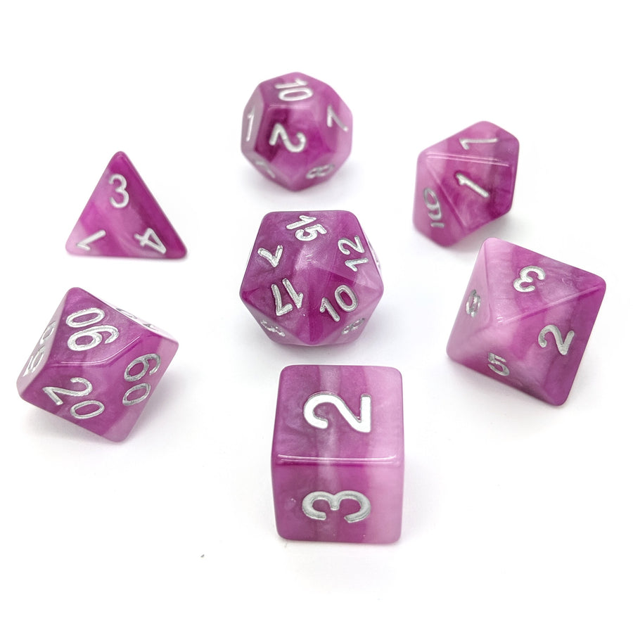 Amethyst Layers | Dice Set