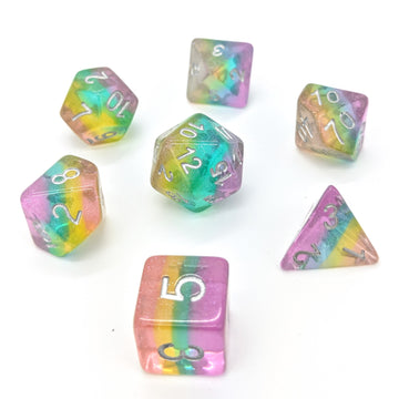 Fairy Dust Rainbow | Dice Set