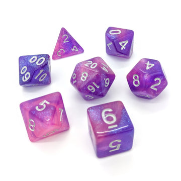 Nebula in Pink | Dice Set