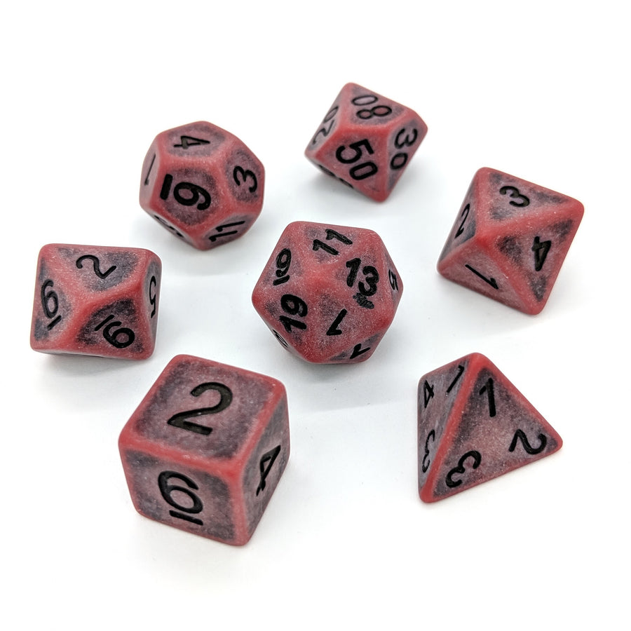 Ancient Bloodstone | Dice Set