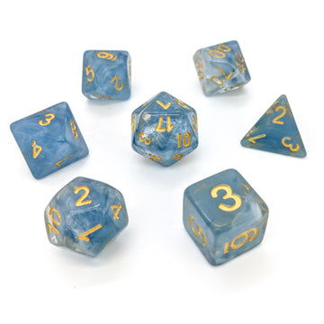 Blue Jade | Dice Set