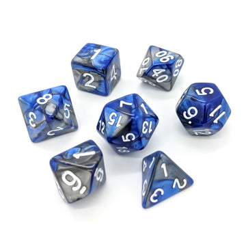 Blue Steel | Dice Set