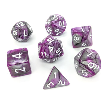 Purple Steel | Dice Set