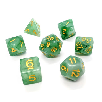 Green Jade | Dice Set