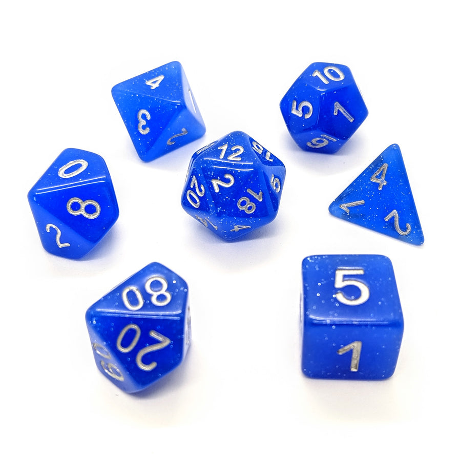 Twinkle in Blue | Dice Set