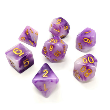 Purple Jade | Dice Set