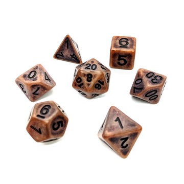 Ancient Copper | Dice Set
