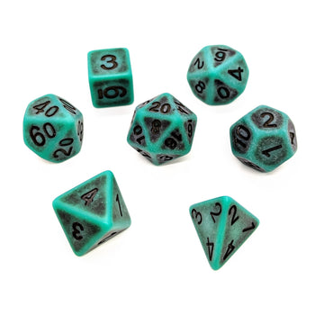 Ancient Emerald | Dice Set