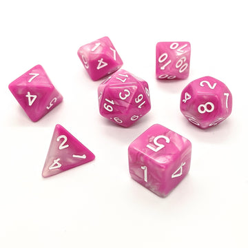 Marshmallow | Dice Set