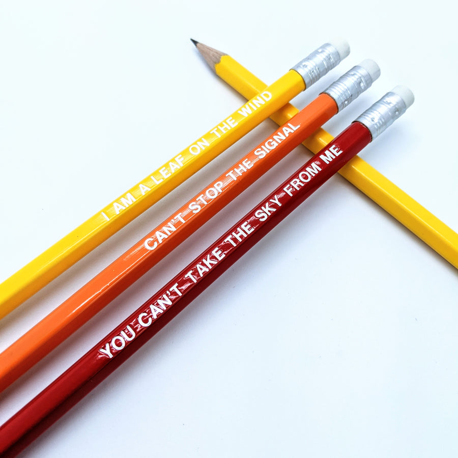 Firefly Good Guys Pencil Set
