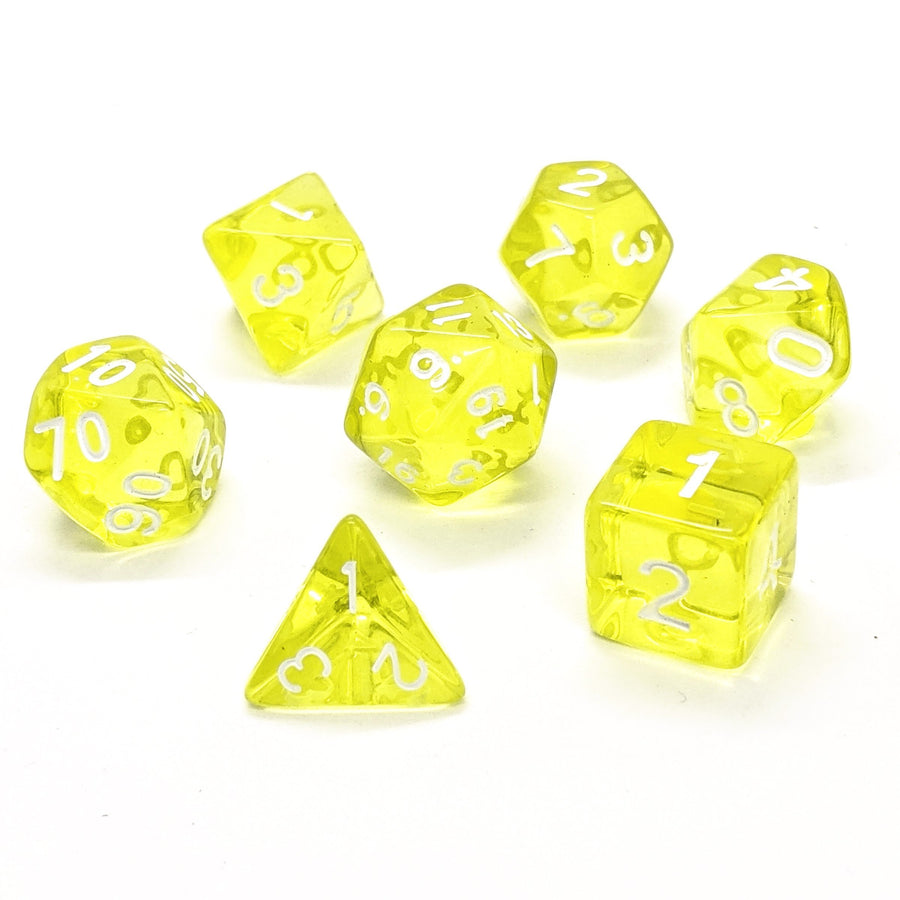 Infinity Gems in Yellow | Dice Set