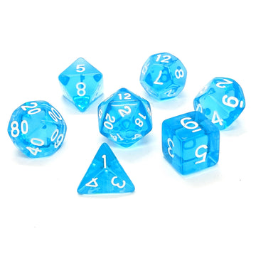 Infinity Gems in Blue | Dice Set