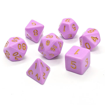 Sorbet in Purple | Dice Set