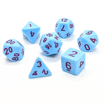 Sorbet in Blue | Dice Set