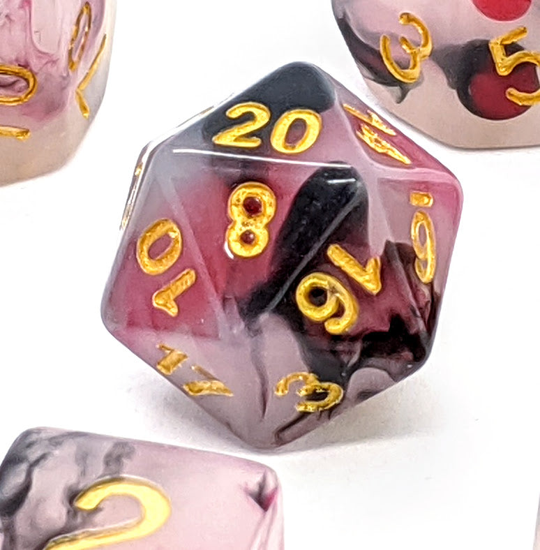 Blood Opal | Dice Set